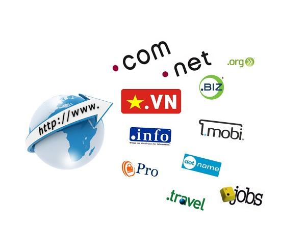 Chọn mua tên miền .com hay .vn
